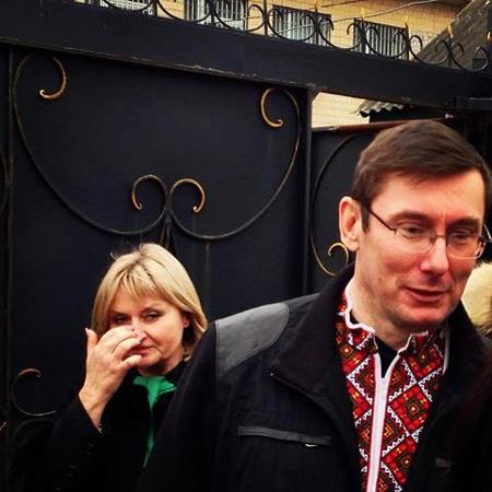 Ірина Луценко плаче від щастя. Фото Романа Шрайка