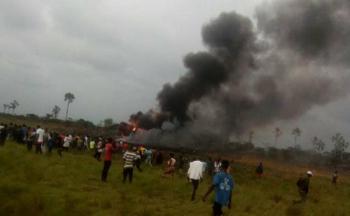 УКонго розбився військовий літак, є загиблі