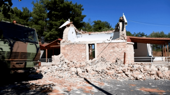 Землетрясение на Крите: Количество раненых возросло до 20   Украинская  правда