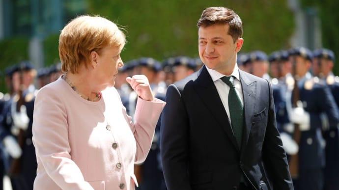 У Меркель сообщили, о чем будет идти речь за ужином с Зеленским в Берлине |  Украинская правда