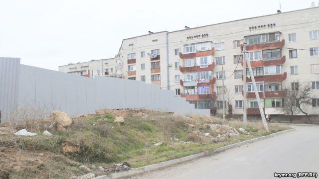 Строительство дома для ФСБ в Севастополе