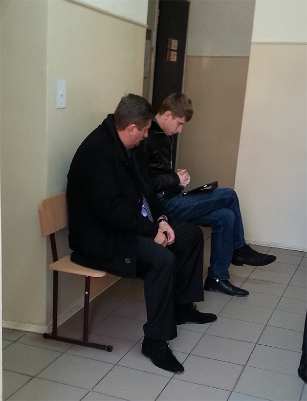 Батько й син Бабенки у суді