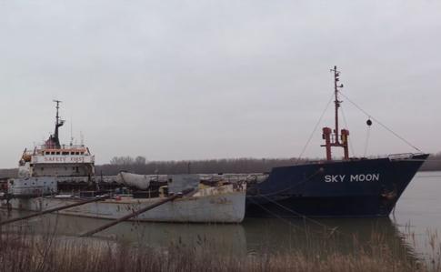 Конфискованное заКрым судно Sky Moon отдадут военным