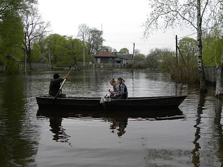 Підтоплення на Чернігівщині