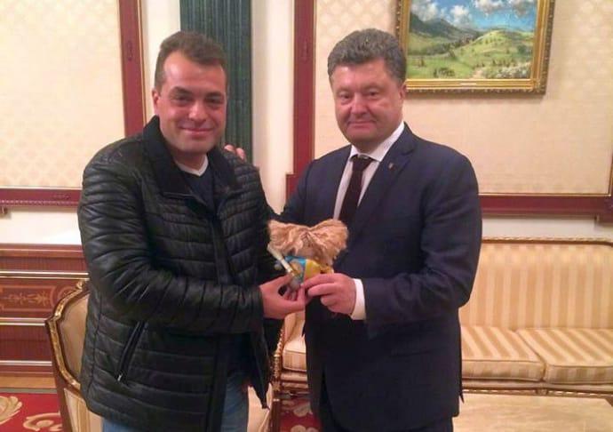 Бірюков і Порошенко, лютий 2016-го