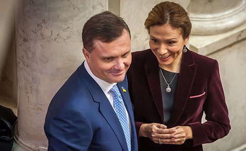 Сергей и Юлия Лёвочкины