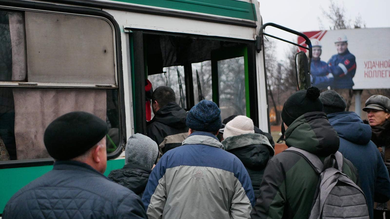 avtobus posadka