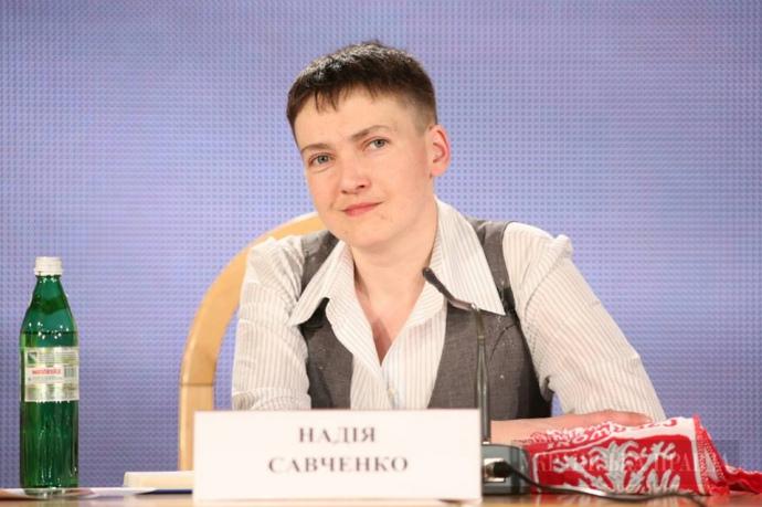 Надія Савченко, 27 травня