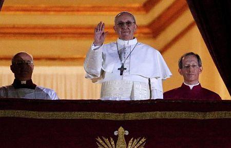 Новоизбранный Папа воспитанник украинского священника