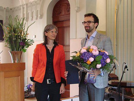 Журналисту Украинской правды вручили премию Свободная пресса Восточной Европы.