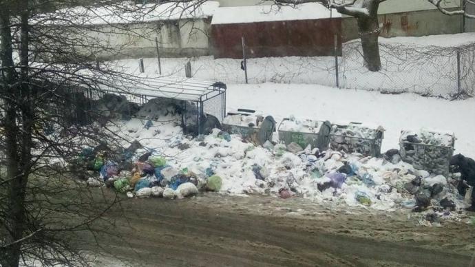 Львів'яни часто виставляють соцмережах купи невивезеного сміття біля своїх будинків