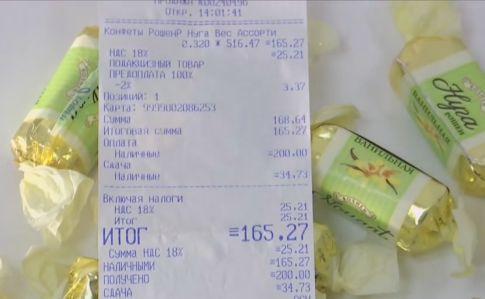Roshen заявляет, что ихконфеты вКрыму небезопасны для здоровья