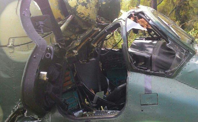В итоге падения самолета вКонго погибли люди