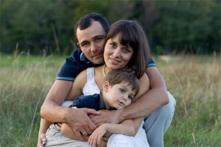 Гацько с женой Мариной