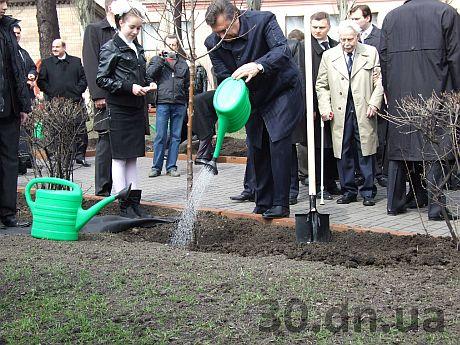 Янукович і горобина