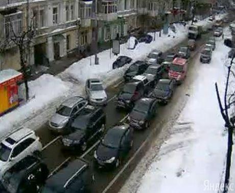 Затори у Києві, 26 березня, фото з Ліга.net