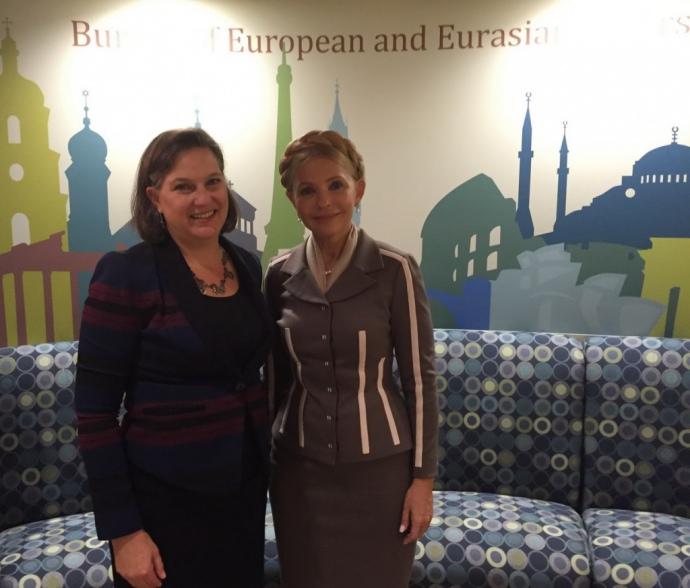 Тимошенко и Нуланд