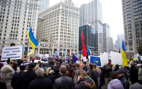 Митинг в Чикаго