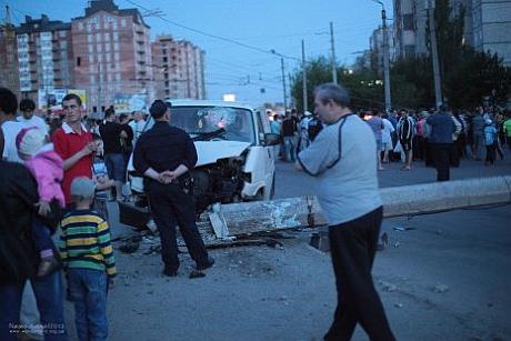 У Івано-Франківську сталася аварія за участю ДАІ