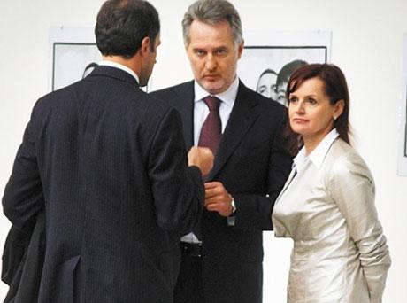 Жуковская и Фирташ. Фото Про головне