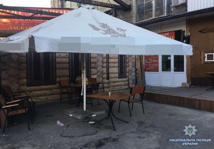 Інцидент стався у Києві на автовокзалі неподалік Центрального залізничного вокзалу.