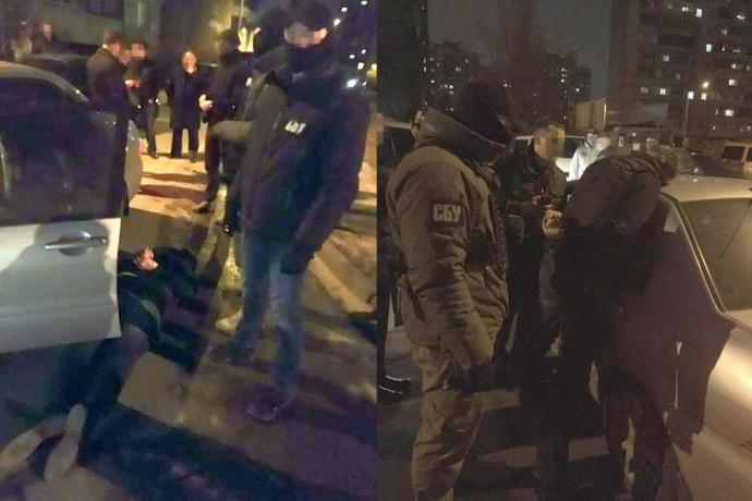 Подполковника полиции поймали на взятке