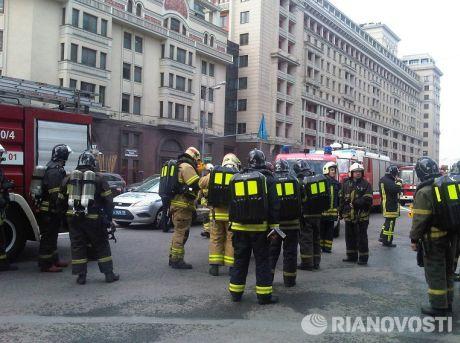 Пожежа у московському метро