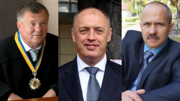 Зліва направо: Струков, Мамай, Ковжога