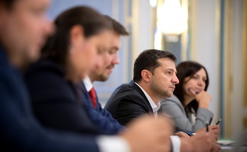 "Зеленский обсудил с представителями МВФ программу поддержки ""амбициозной повестки дня"""