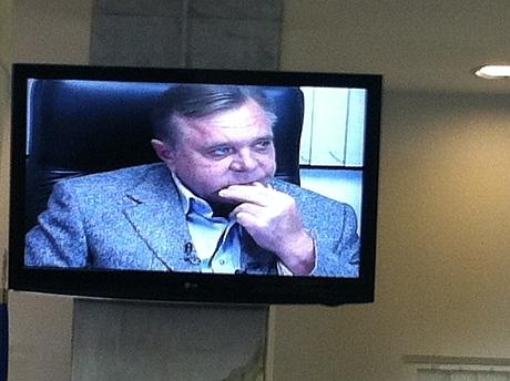 Кириченко під час допиту. Фото УП