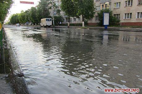 Улицы города подтопило