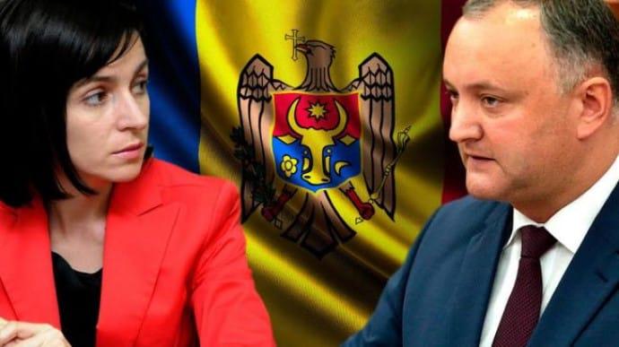Выборы президента Молдавии: разрыв между Санду и Додоном 2%   Украинская правда