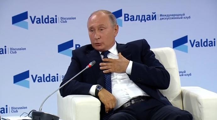 Путін заявив, що домовлятиметься вже з новою владою в Україні