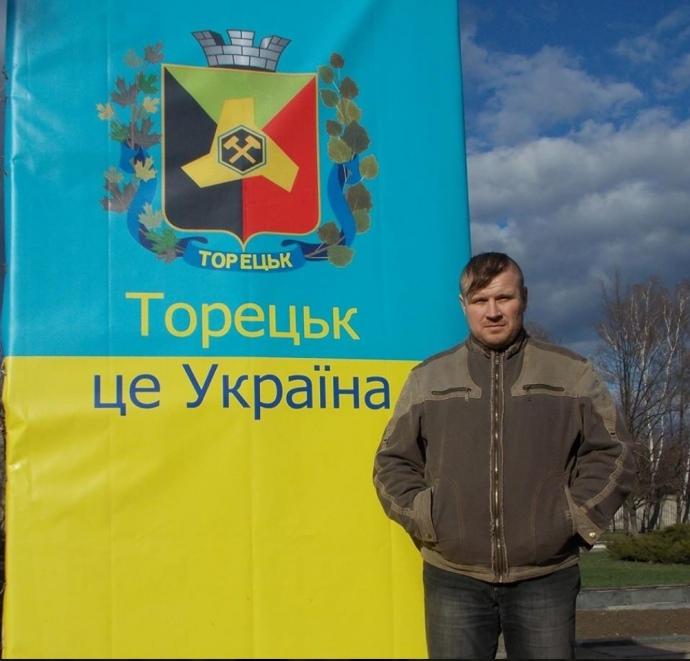 Шахтар Сергій Поплавець скаржиться, що умови роботи в торцеьких шахтах за два роки стали значно гірші