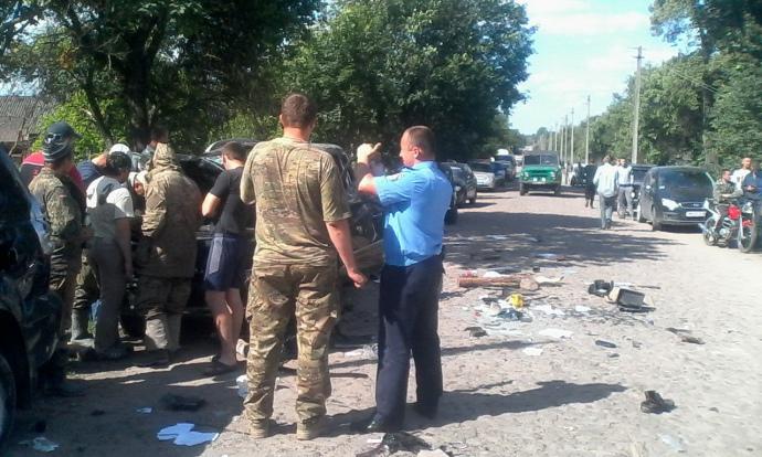 Конфликт в Житомирской области