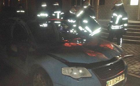 УКиєві вибухнув автомобіль