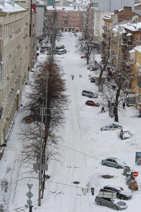 Вулиця Шота Руставелі. Фото Оксани Коваленко, УП
