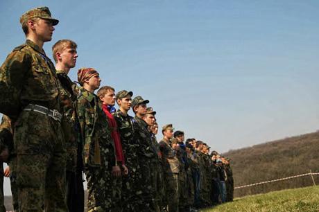 Летом в разных регионах Украины прошли вышкольные лагеря, организованные местными ячейками Свободы. Все фото - Кирилл Бабенцов