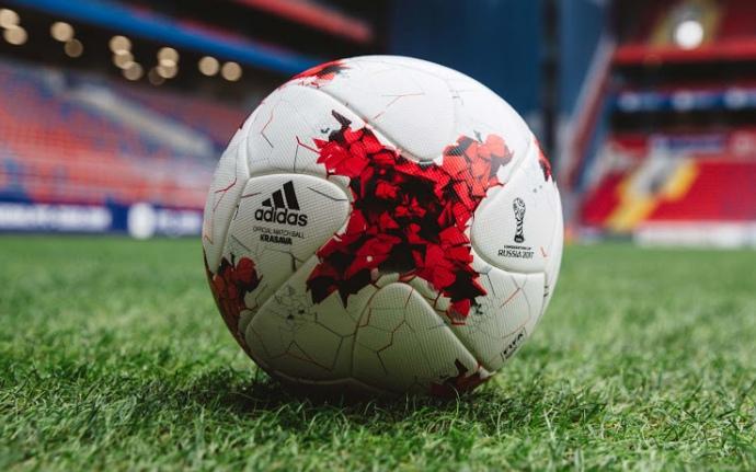 Adidas 2017 Confed Cup Krasava official match ball