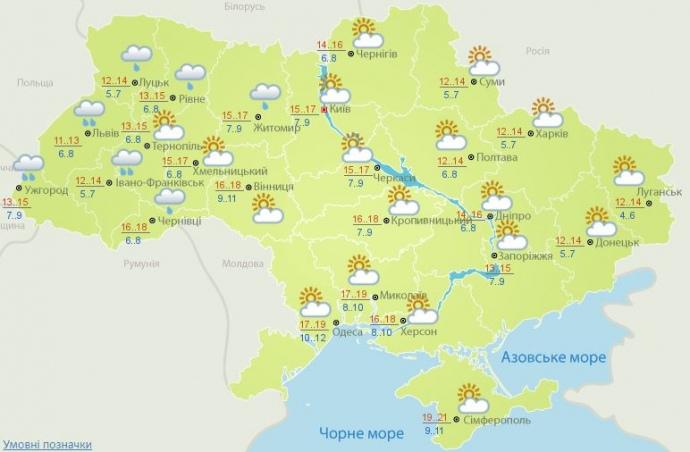 погода 10 ноября