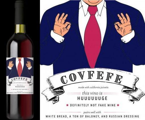 Covfefe 2015 Red Blend-ის სურათის შედეგი