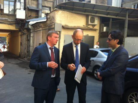 Яценюк вирішив позиватися до Клюєва. Фото Тетяни Ніколаєнко