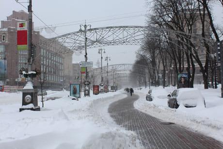 Хрещатик. Фото Оксани Коваленко, УП