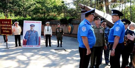 В Симферополе разгорелся скандал из-за портрета Сталина