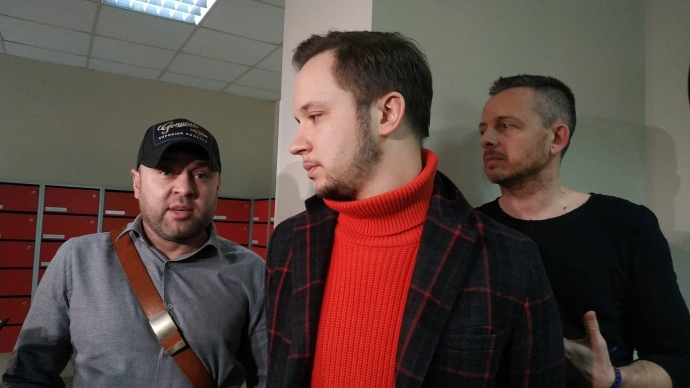 Александр Пикалов и Артем Гагарин