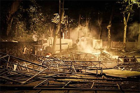 Барикади у Стамбулі. Фото з Facebook Мустафи Найема