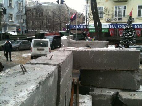Блоки на Інститутській. Фото Оксани Коваленко