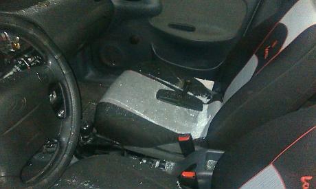 Розтрощене авто замглави ДемАльянсу