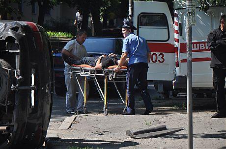 В ДТП пострадали 6 человек