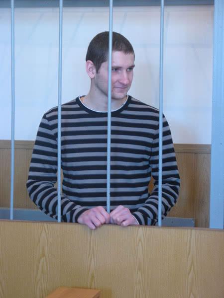Засуджений Ганенко. Фото Чоркому